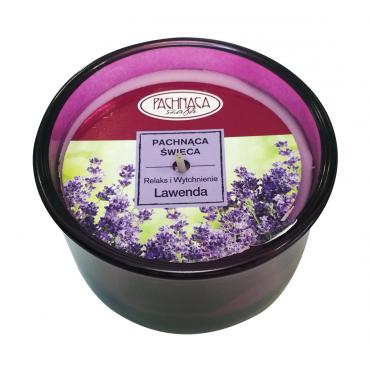 Świeca zapachowa Relaks i Wytchnienie - Lawenda - Pachnąca Szafa