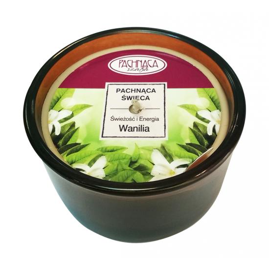 Świeca zapachowa Świeżość i Energia - Wanilia - Pachnąca Szafa