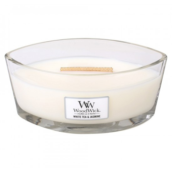 Świeca Hearthwick White Tea & Jasmine WoodWick