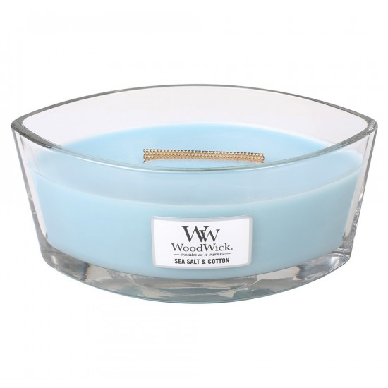 Świeca Hearthwick Sea Salt & Cotton WoodWick