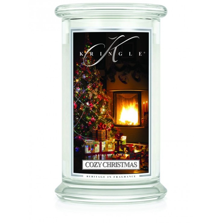Duża świeca Cozy Christmas Kringle Candle