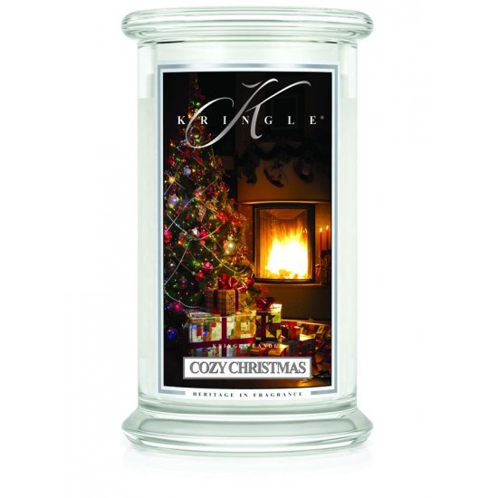 Duża świeca Cozy Christmas Kringle Candle