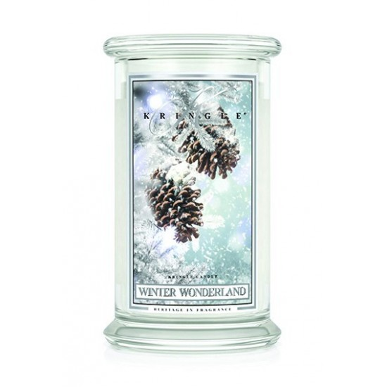 Duża świeca Winter Wonderland Kringle Candle