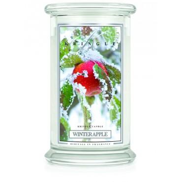 Duża świeca Winter Apple Kringle Candle
