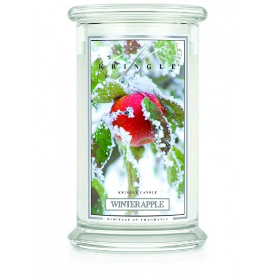 Duża świeca Winter Apple Kringle Candle