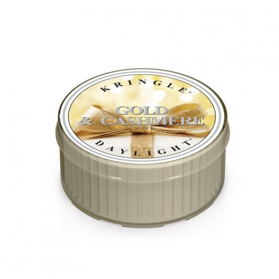 Daylight świeczka Gold & Cashmere Kringle Candle