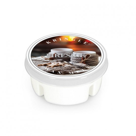 Wosk Fireside Kringle Candle