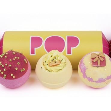 Zestaw upominkowy w kształcie cukierka POP – Bomb Cosmetics