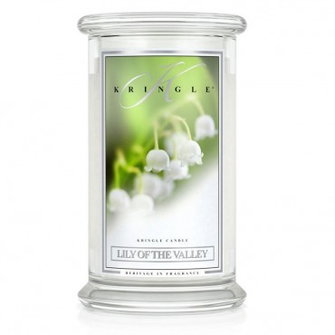 Duża świeca Lily of the Valley Kringle Candle