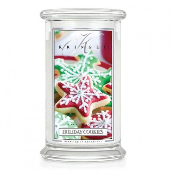 Duża świeca Holiday Cookies Kringle Candle