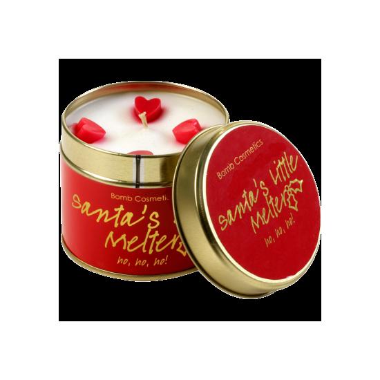 Świeca zapachowa w puszce POMOCNIK ŚW. MIKOŁAJA – Bomb Cosmetics
