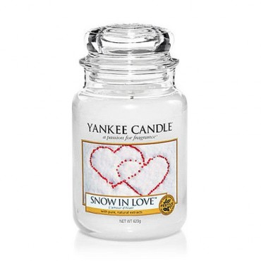 Duża świeca Snow in Love Yankee Candle
