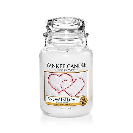 Duża świeca Snow in Love Yankee Candle