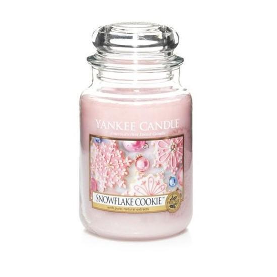 Duża świeca Snowflake Cookie Yankee Candle