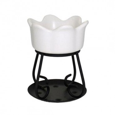 Kominek Petal bowl biały Yankee Candle