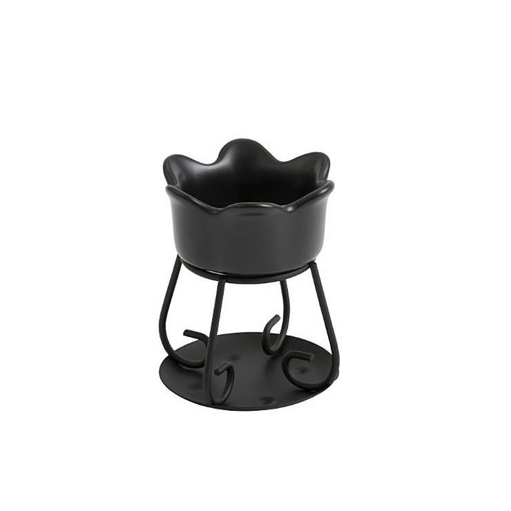 Kominek Petal bowl czarny Yankee Candle