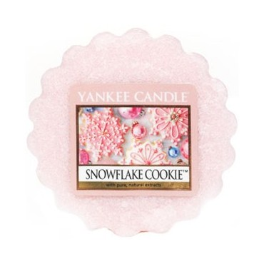Wosk Snowflake Cookie Yankee Candle