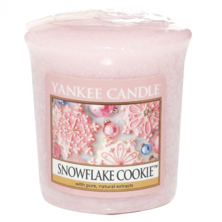 Sampler Snowflake Cookie Yankee Candle