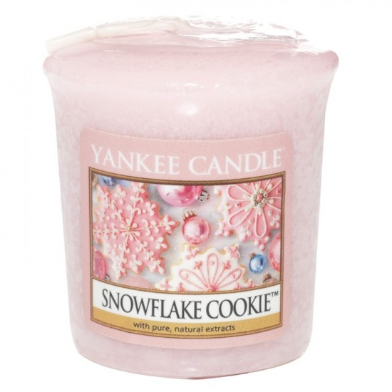 Sampler Snowflake Cookie Yankee Candle