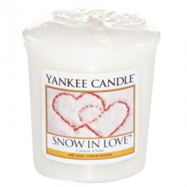 Sampler Snow in Love Yankee Candle