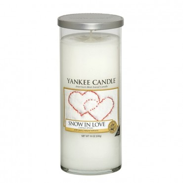 Duży pilar Snow in Love Yankee Candle