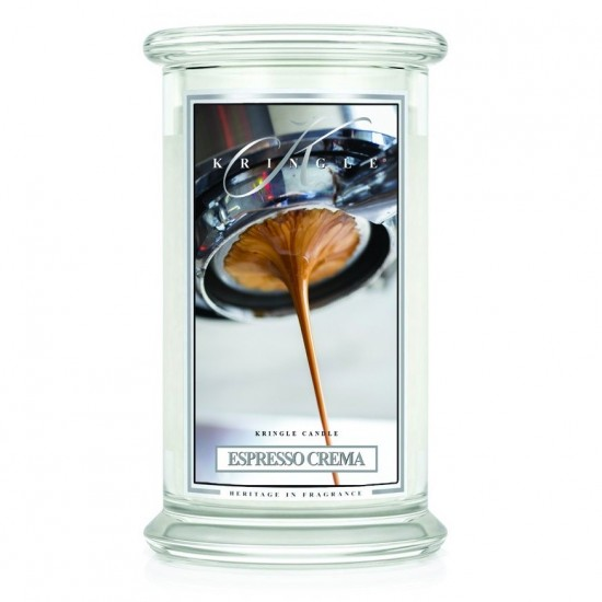 Duża świeca Espresso Crema Kringle Candle