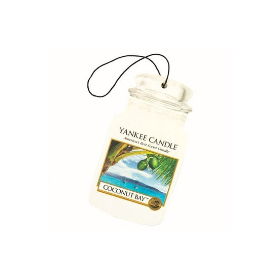 Car jar Coconut Bay Yankee Candle