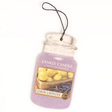 Car jar Lemon Lavender Yankee Candle