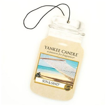 Car jar Sun & Sand Yankee Candle