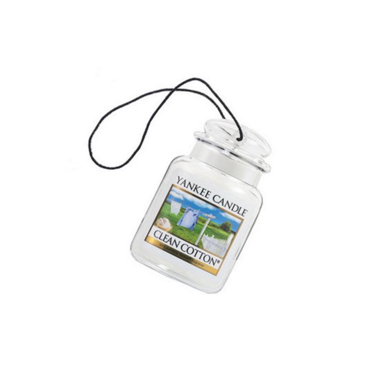 Car jar ultimate Clean Cotton Yankee Candle