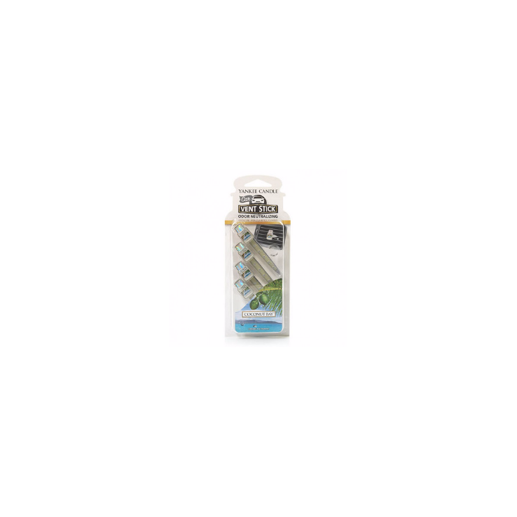 Car vent stick Coconut Bay Yankee Candle