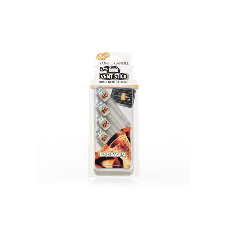Car vent stick French Vanilla Yankee Candle