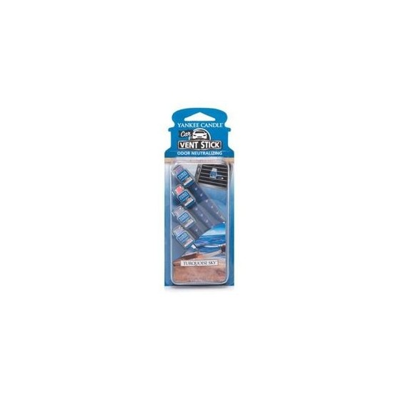 Car vent stick Turquoise Sky Yankee Candle