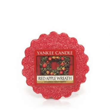 Wosk Red Apple Wreath Yankee Candle