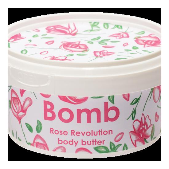 Masło do ciała z 30% Shea RÓŻANA REWOLUCJA – Bomb Cosmetics