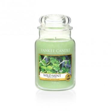 Duża świeca Wild Mint Yankee Candle