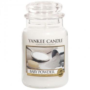 Duża świeca Baby Powder Yankee Candle