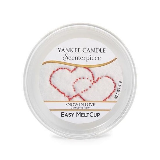 Wosk Scenterpiece Snow in Love Yankee Candle