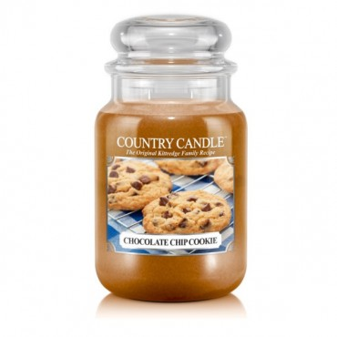 Duża świeca Chocolate Chip Cookie Country Candle