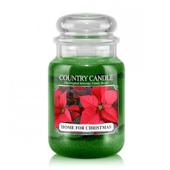 Duża świeca Home for Christmas Country Candle