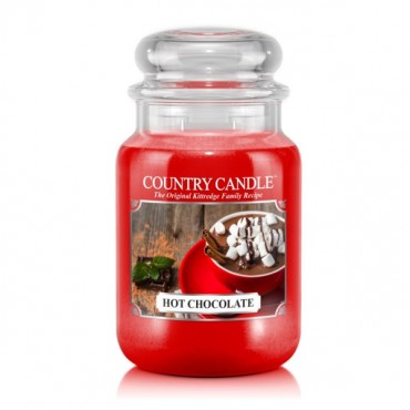 Duża świeca Hot Chocolate Country Candle