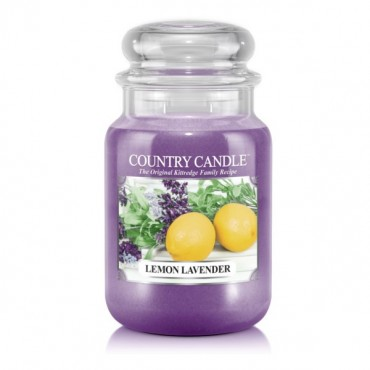 Duża świeca Lemon Lavender Country Candle