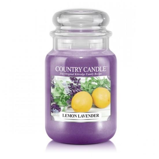 Duża świeca Lemon Lavender Country Candle
