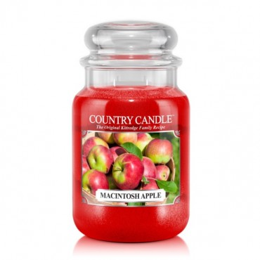 Duża świeca Macintosh Apple Country Candle