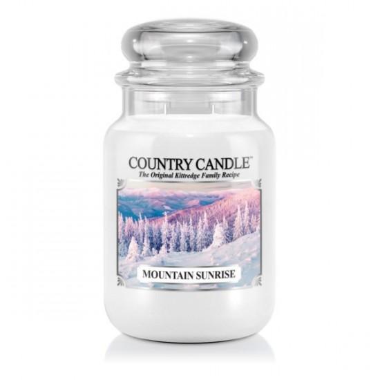 Duża świeca Mountain Sunrise Country Candle