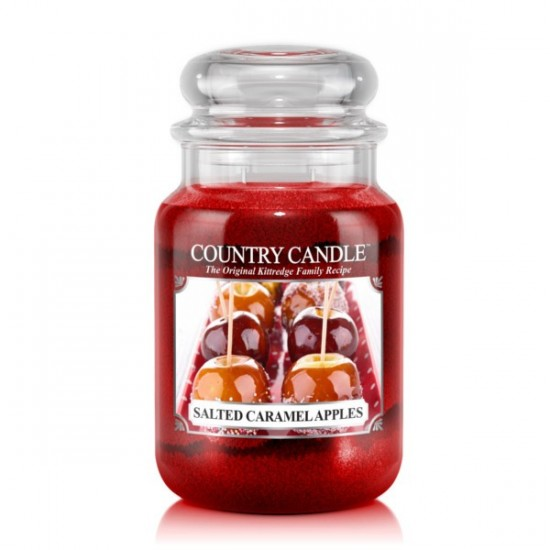 Duża świeca Salted Caramel Apples Country Candle