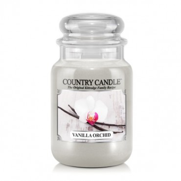 Duża świeca Vanilla Orchid Country Candle