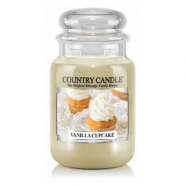 Duża świeca Vanilla Cupcake Country Candle
