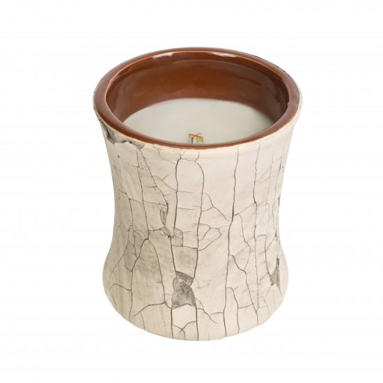 Ceramiczna świeca klepsydra Fireside WoodWick