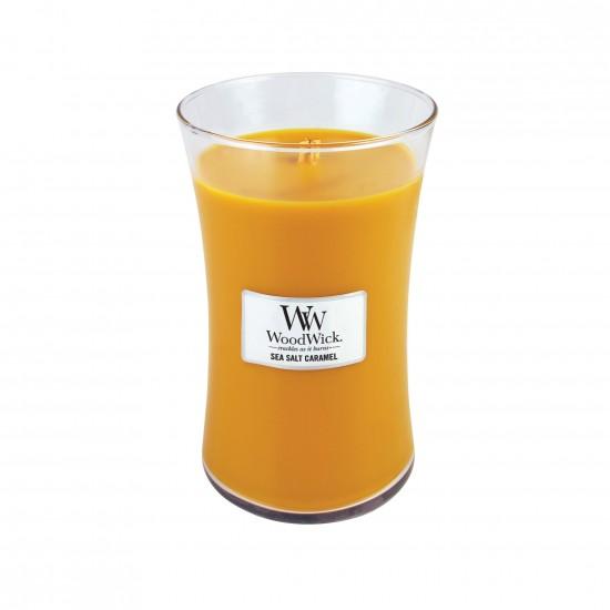 Duża Świeca Sea Salt Caramel WoodWick